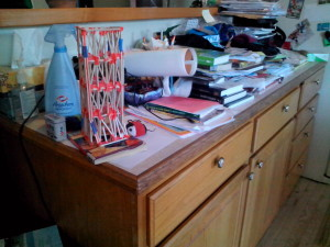 Cluttered Office Counter1
